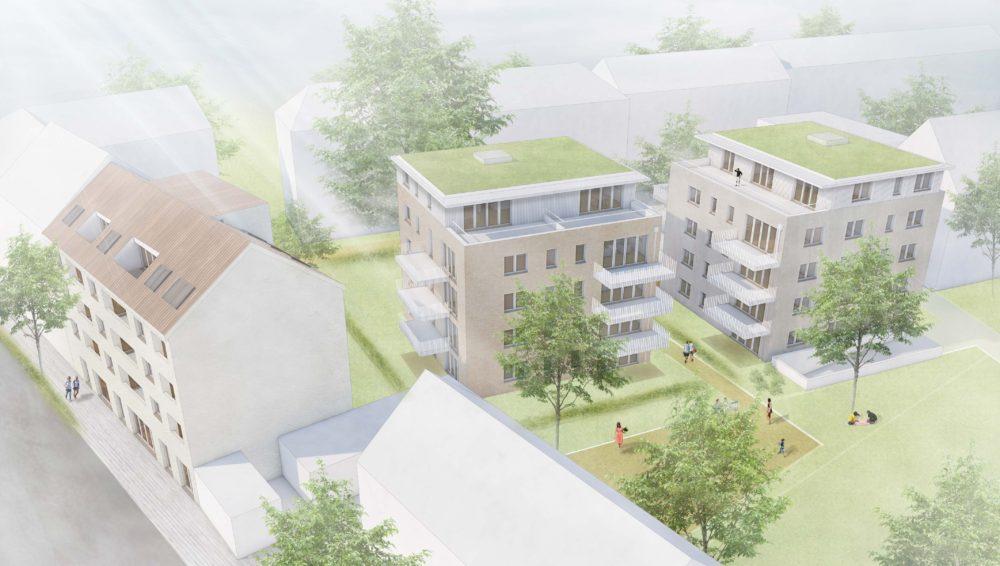 Neubauwohnungen Petershausen Reichenaustraße